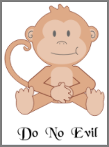 One uncommonly known monkey