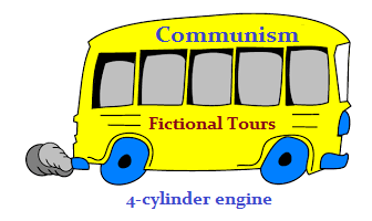 Communism's Fictional tours bus  (28K)