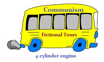 Communism's Fictional tours bus  (28K)
