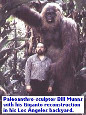 Bigfoot and Giganto theory
