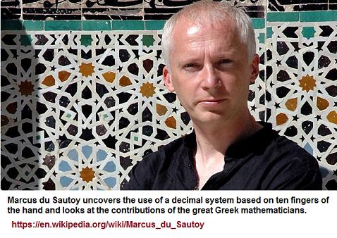 Marcus du Sautoy's BBC maths presentation