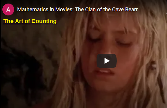 The art of Counting in the clan of the Cave Bear movie