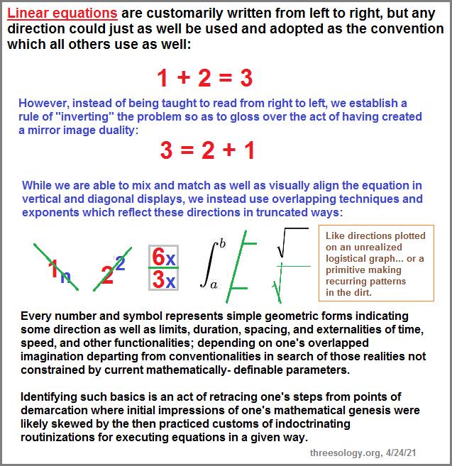 linear equation geometric modalities