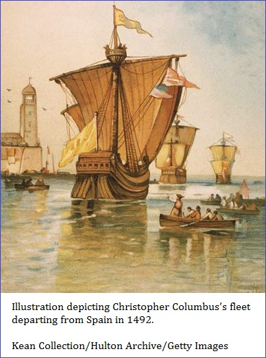 3 ships of Christopher Columbus (82K)