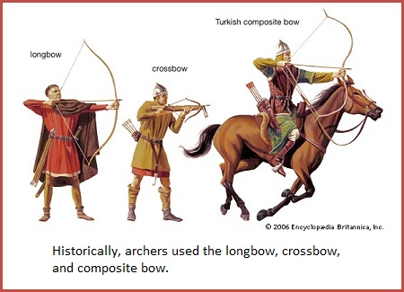 3 main bow types