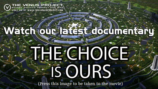 The Venus Project Documentary logo (77K)