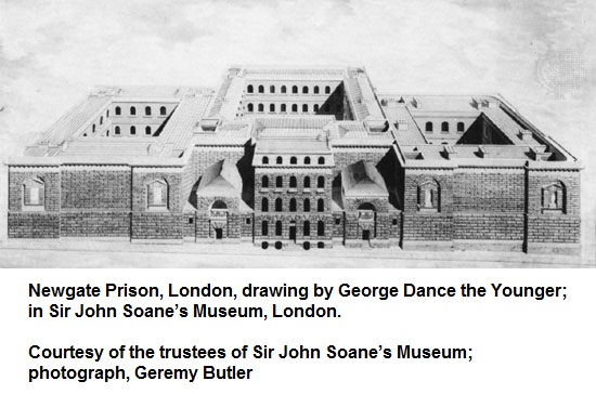 Newgate Prison, London England