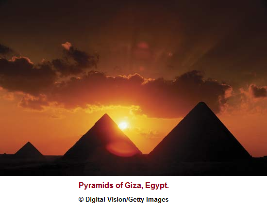 3 pyramids of the Giza Plateau