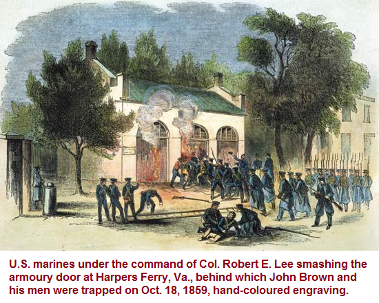 Armoury at Harper's Ferry