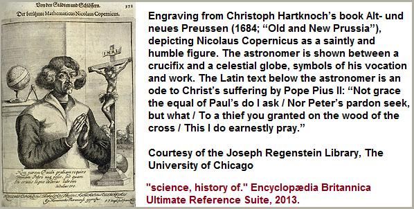 Engraving of Copernicus
