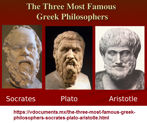 Three famous Greekk Philosophers