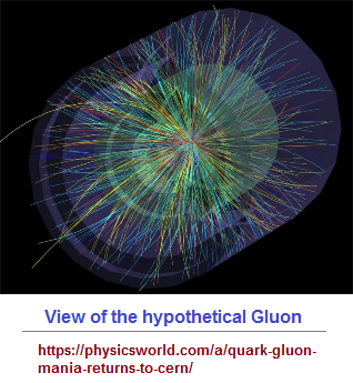 A view of the supposed gluon connectivity