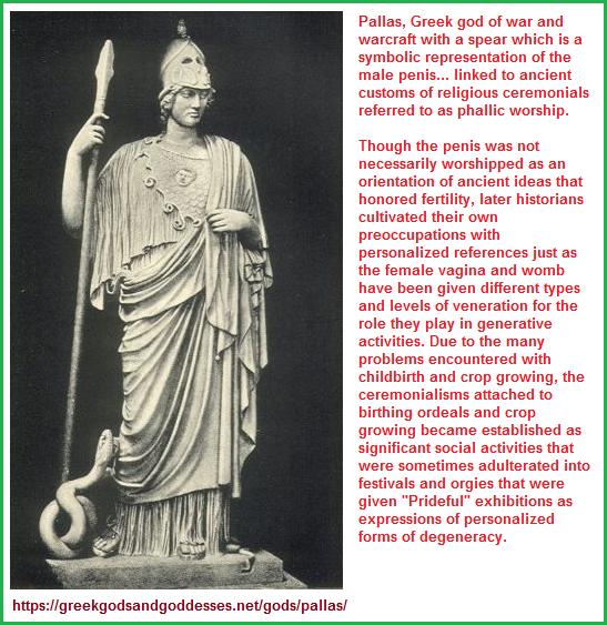 Pallas, ancient Greek god of War and Warcraft
