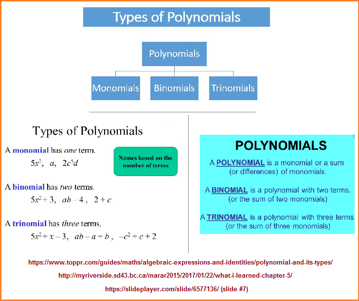 Polynomials referenced as a Polyopoly