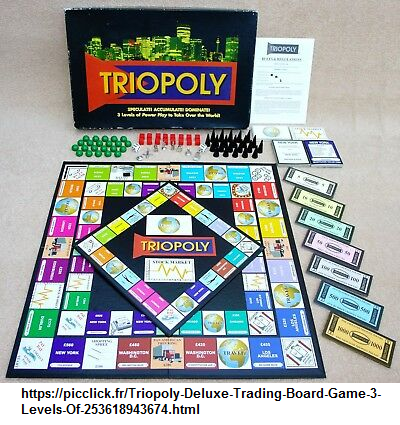 Triopoly referencing the value of three