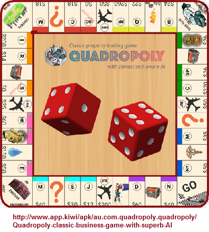 Quadropoly referencing the value of four