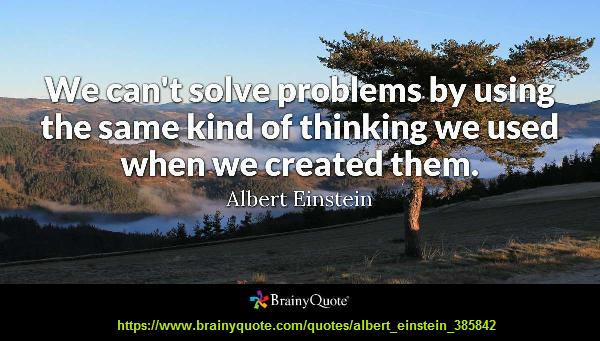 Quote attributed to Einstein