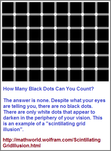 Black dots or no black dots?