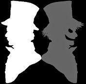 Doppelganger as a shadowy figure