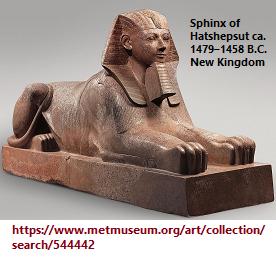 Egyptian Sphinx, New Kingdom