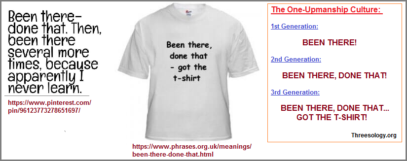 Been there, done that, got the t-shirt phrase... vocal wave pattern