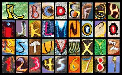 Butterfly Alphabet (35K)