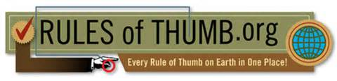 Rules of thumb.org (10K)
