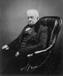 Robert Brown in 1855 (8K)