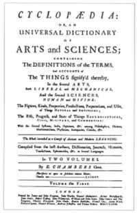 Ephraim Chambers' Cyclopaedia 1728 (13K)