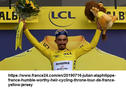 Alaphilippe won the hearts and minds of the people