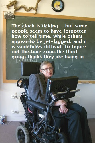 A Threes perspective with Stephen Hawking