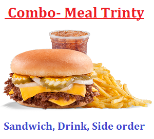 An example of a combo-meal Trinity