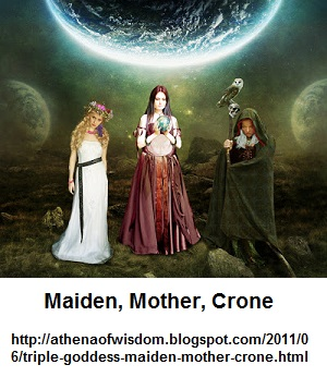 Maidien, Mother, Crone Trinity