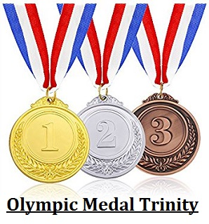 Olympic Medals Trinity