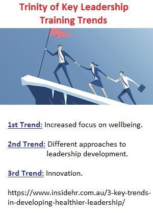Trinity of key leadership training trends