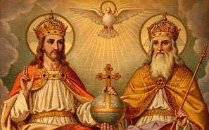One version of the christian trinity