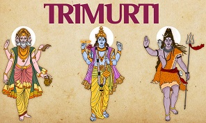 One version of the trimurti