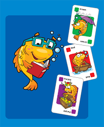 Go Fish Card game using fish images