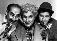 Three out of Five Marx Brothers