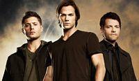Sam, Dean, Castiel of Supernatural Television show