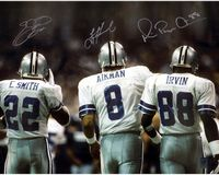 Smith, Aikman, Smith of the Dallas Cowboys
