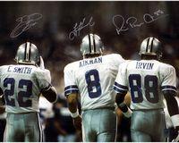 Smith, Aikman, Smith of the Dallas Cowboys