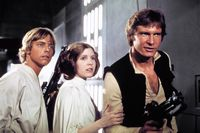 Star Wars Trio Han, Leia, Like