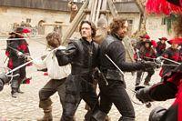 Three Musketeers plus D'artagnan