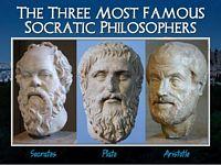 Socrate's, Plato, Aristotle