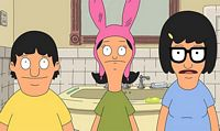 Tina, Gene and Louse cartoon characters
