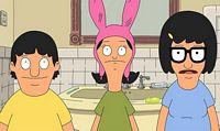 Tina, Gene and Louse cartoon characters
