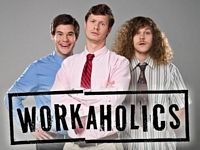Trinity of Workaholics cast members