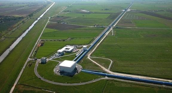 Observatory looks like a crop circle design