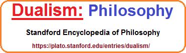 Dualities in Philosophy example
